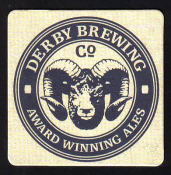 British Beermats Derby Brewing Company - UNUSED (h494)