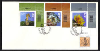 Cyprus Stamps SG 2013 (g) Organisms of the Mediterranean marine environment - Unofficial First day cover (h495)