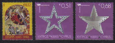 Cyprus Stamps SG 1207-09 2009 Christmas - MINT