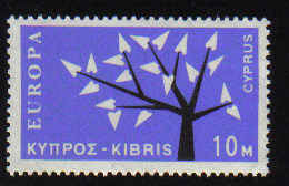 CYPRUS STAMPS SG 224 1963 10 MILS - MINT