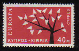 Cyprus stamps SG 225 1963 40 Mils - MLH