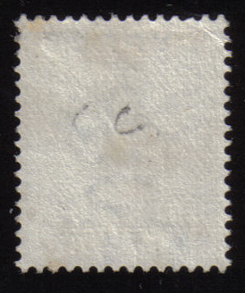 SG11 1881 Cyprus stamp - half piastre. Crown CC - no gum
