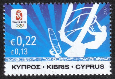 Cyprus Stamps SG 1165 2008 22c Bejing Olympic Games - MINT