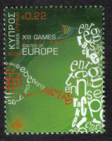 Cyprus Stamps SG 1190 2009 22c XIII Games of the Small States of Europe - MINT