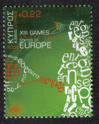 Cyprus Stamps SG 1190 2009 22c XIII Games of the Small States of Europe - M
