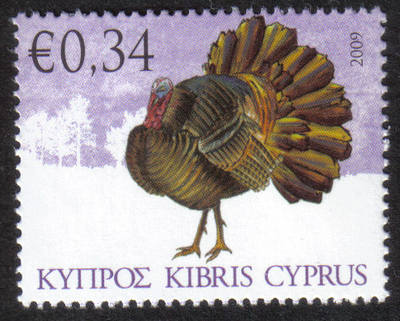 Cyprus Stamps SG 1195 2009 34c Domestic Fowl of Cyprus - MINT
