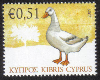 Cyprus Stamps SG 1197 2009 51c Domestic Fowl of Cyprus - MINT