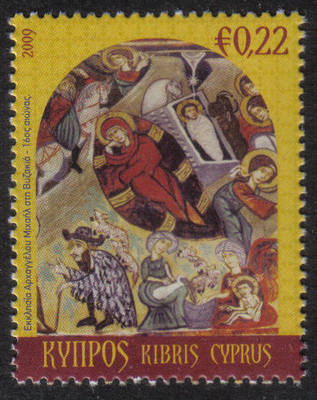 Cyprus Stamps SG 1207 2009 22c Christmas - MINT