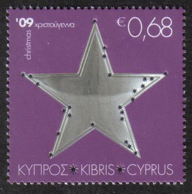 Cyprus Stamps SG 1209 2009 68c Christmas - MINT