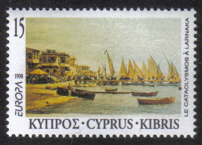 Cyprus Stamps SG 939 1998 15c Europa Festivals - MINT