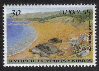 Cyprus Stamps SG 970 1999 30c Europa - MINT