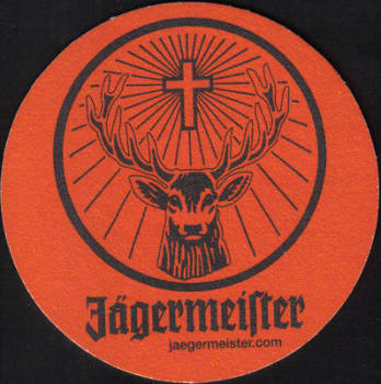 German Beermats Jagermeister - UNUSED (z199)