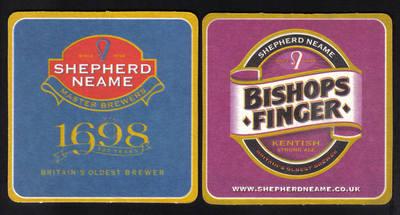British Beermats Shepherd Neame, Kentish Ale