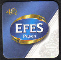 Turkey Beermats EFES - UNUSED (z019)