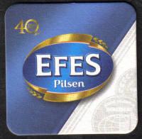 Turkey Beermats EFES - UNUSED (z019)
