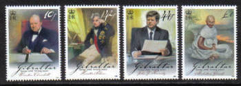 Gibraltar Stamps SG 1275-78 2008 Europa Letters - MINT