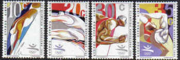 Cyprus Stamps SG 811-14 1992 Barcelona Olympic Games - MINT