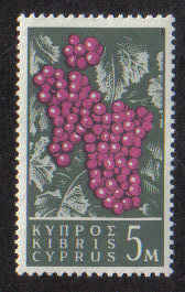 CYPRUS STAMPS SG 212 1962 5 MILS - MLH