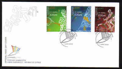 Cyprus Stamps SG 1190-92 2009 XIII Games of the Small States of Europe - Of