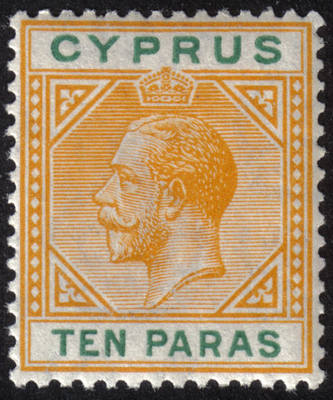 Cyprus Stamps SG 085 1921 10 Paras King George V - MINT