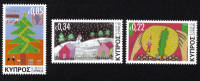 Cyprus Stamps SG 1304-06 2013 Christmas Noel - MINT