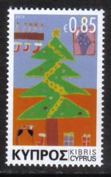 Cyprus Stamps SG 1306 2013 Christmas Noel 85c - MINT
