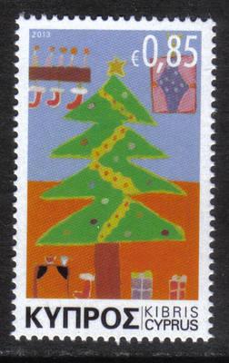 Cyprus Stamps SG 2013 (I) Christmas Noel 85c - MINT