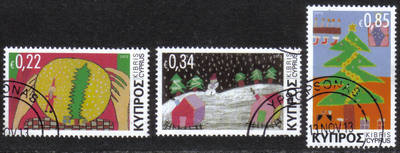Cyprus Stamps SG 2013 (I) Christmas Noel - USED (h546)