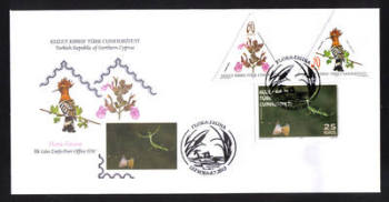 North Cyprus Stamps SG 0761-63 2013 Flora and Fauna - Official First day cover