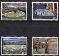 Cyprus Stamps SG 242-45 1964 William Shakespeare 400th Anniversary - MLH