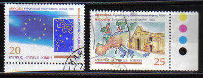 Cyprus Stamps SG 889-90 1995 European Cultural month - USED (b855)