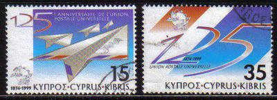 Cyprus Stamps SG 976-77 1999 UPU - USED (b838)