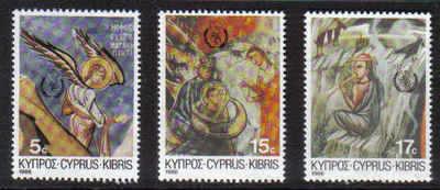Cyprus Stamps SG 692-94 1986 Christmas - MINT
