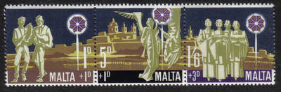 Malta Stamps SG 0427-29 1969 Christmas Childrens Welfare Fund - MINT