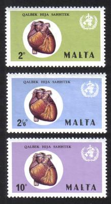 Malta Stamps SG 0464-66 1972 World Health - MINT
