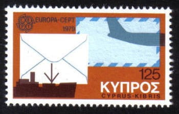 Cyprus Stamps SG 522 1979 125 mils - MINT