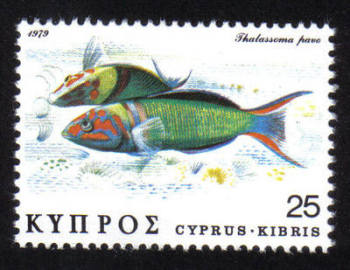 Cyprus Stamps SG 523 1979 25c - MINT