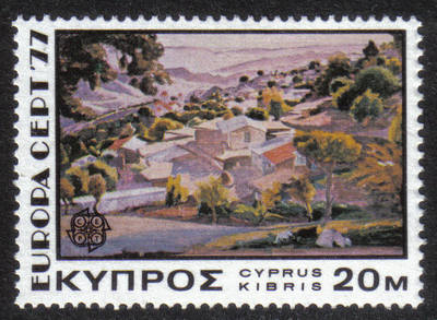 Cyprus Stamps SG 482 1976 20 Mills - MINT