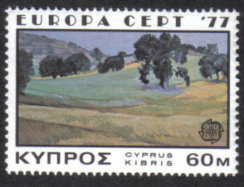 Cyprus Stamps SG 483 1977 60 Mills - MINT