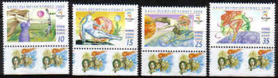 Cyprus Stamps SG 1005-08 2000 Sydney Olympic Games - MINT (b987)