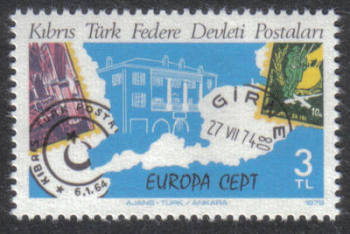 North Cyprus Stamps SG 080 1979 3 TL - MINT