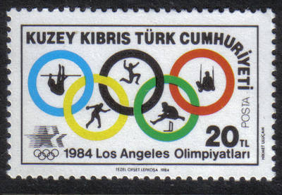 North Cyprus Stamps SG 150 1983 20 TL - MINT