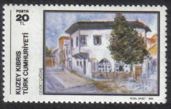 North Cyprus Stamps SG 157 1984 20 TL - MINT