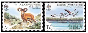 Cyprus stamps 1986 Europa - Conservation of Nature and Environment