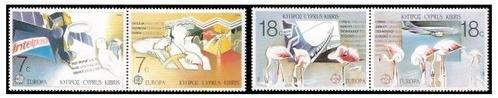 Cyprus stamps 1988 Europa - Transportation and Telecommunications