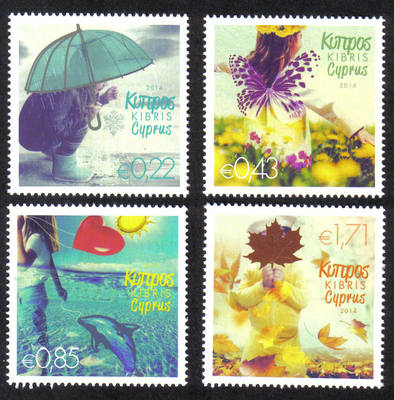 Cyprus Stamps SG 2014 (b) The four seasons of the year - MINT