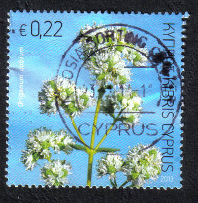 Cyprus Stamps SG 2013 (f) Aromatic stamp Oregano 22 cents - USED (h758)