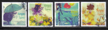 Cyprus Stamps SG 1315-18 2014 The four seasons of the year - USED (h748)