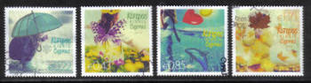 Cyprus Stamps SG 1315-18 2014 The four seasons of the year - USED (h749)