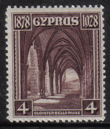 CYPRUS STAMPS SG 127 1928 50th ANNIVERSARY OF BRITISH RULE - MINT